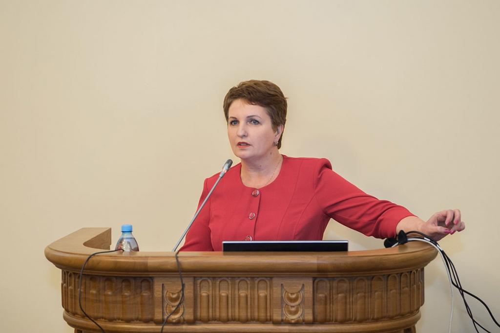 Выступление Е.М. Разинкиной на заседании Ученого совета 31 октября 2016