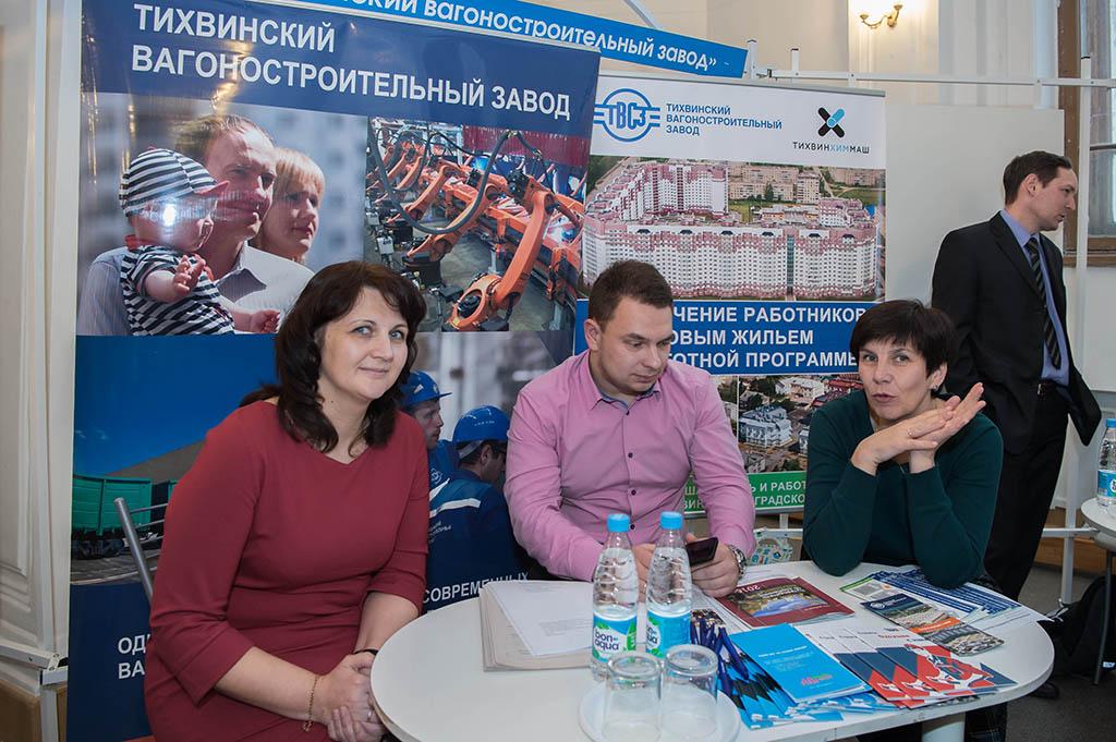 В СПбПУ прошла очередная «Ярмарка вакансий» для выпускников вуза и студентов старших курсов