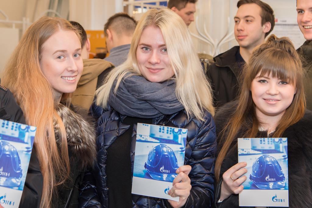 38 Ярмарка вакансий состоялась в СПбПУ