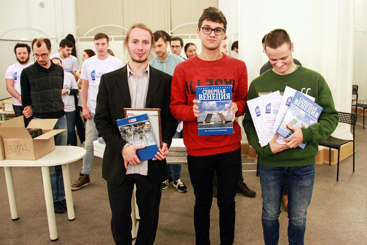 Прошла олимпиада по робототехнике в Политехе