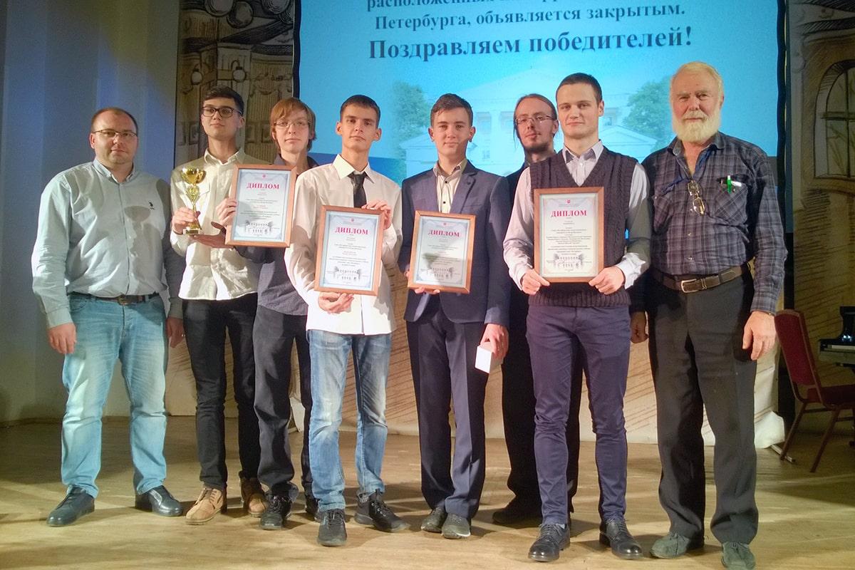 Студенты Политеха - победители студенческих олимпиад